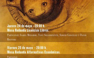 Mesa redonda de Alternativas Económicas del Festival K-maleón